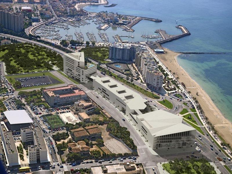Meliá y Barceló presentan ofertas para el Palacio de Congresos-Hotel de Palma de Mallorca