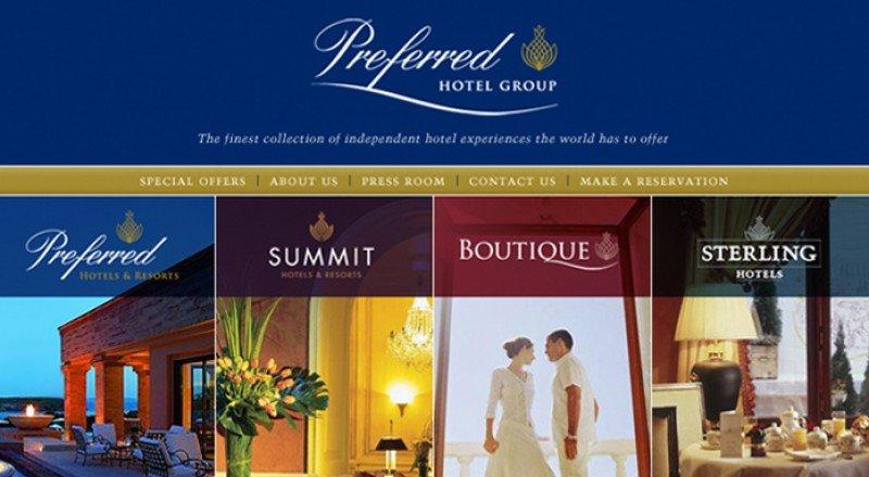 Preferred Hotel Group agrupa todas sus marcas en una sola