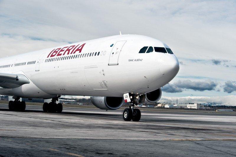 Motín en un avión de Iberia en Barajas