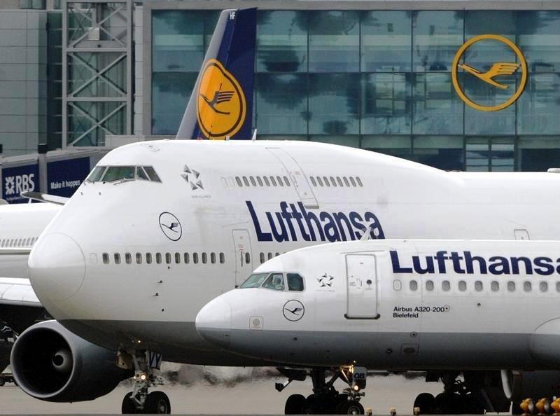 Huelga de pilotos: Lufthansa opera este sábado el 40% de sus vuelos de largo radio