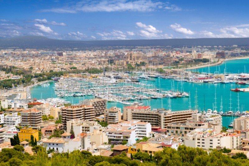 Una vista de Palma de Mallorca. #shu#