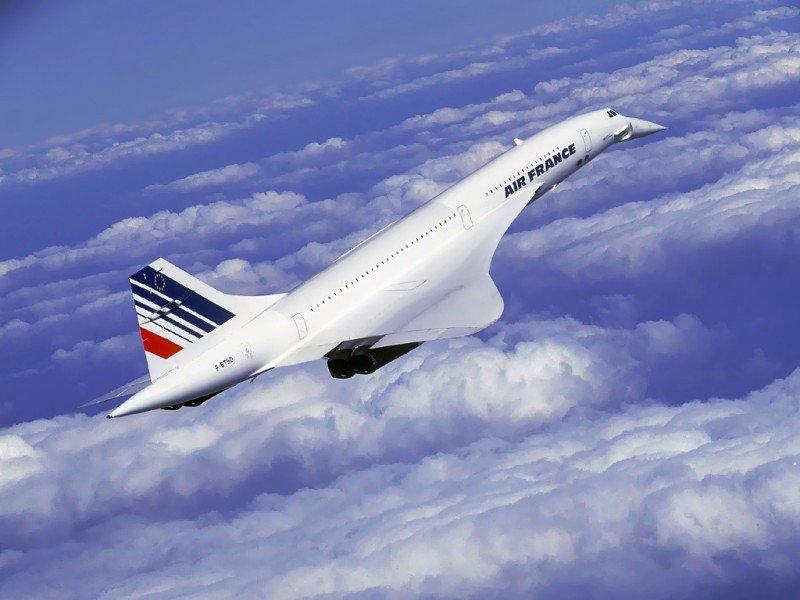 Imagen del Concorde, cuyo final quedó marcado por el accidente de París.