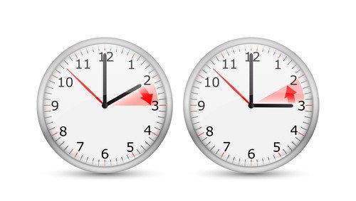 A la dos de la madrugada del domingo serán las tres. #shu#