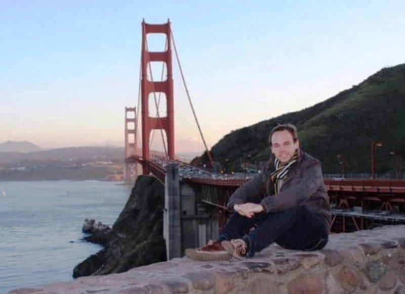 Andreas Lubitz, el copiloto acusado de estrellar deliberadamente el avión de Germanwings (foto twitter).