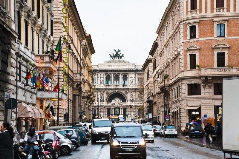 En Italia el crecimiento del RevPar superó el 10%. #shu#.