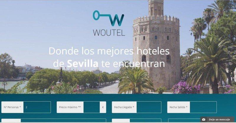 Imagen: Página de inicio de Woutel. (http://www.woutel.com)