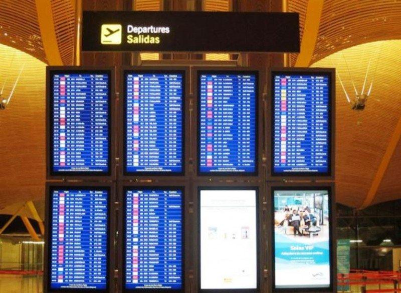 Los aeropuertos españoles programan 168 millones de asientos para este verano