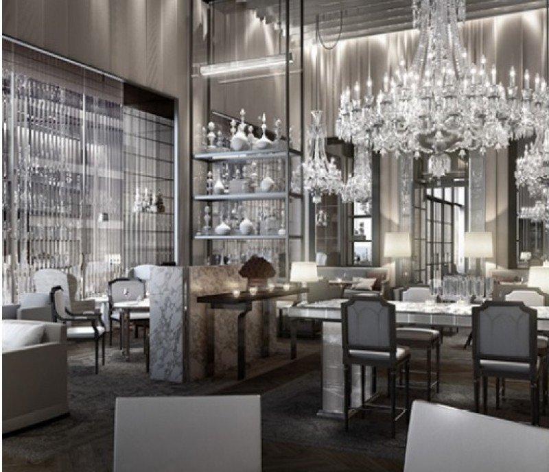 El fabricante francés de cristal Baccarat se estrena en el sector hotelero