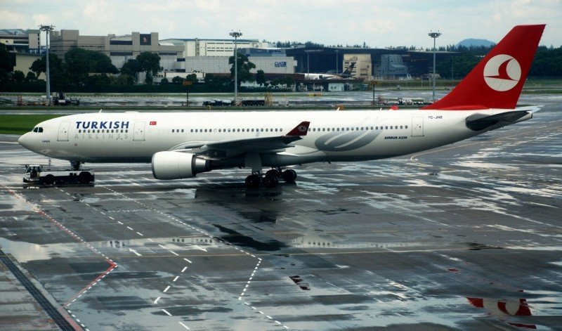 Un avión de Turkish Airlines es desviado a Casablanca por amenaza de bomba