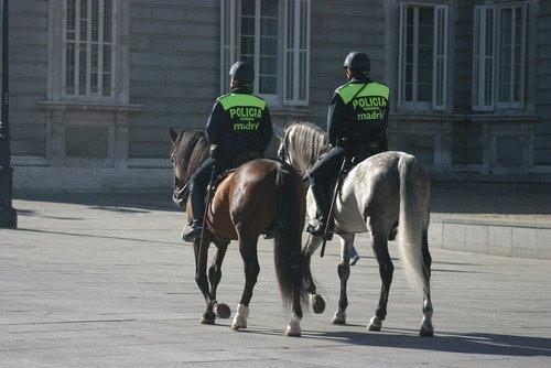 Tres policías franceses y dos portugueses colaboran con los españoles. #shu#