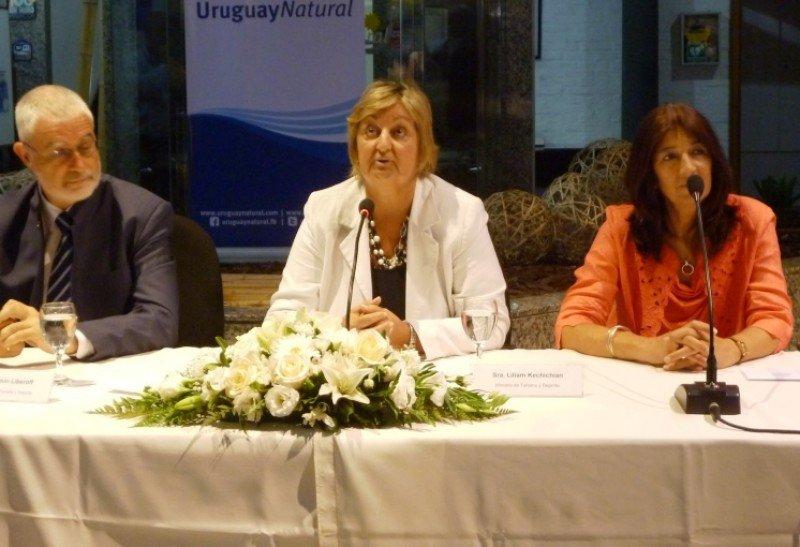 La ministra Kechichian mencionó las prioridades de la esta nueva gestión, que incluyen la aplicación de la Ley de Turismo aprobada en 2014.