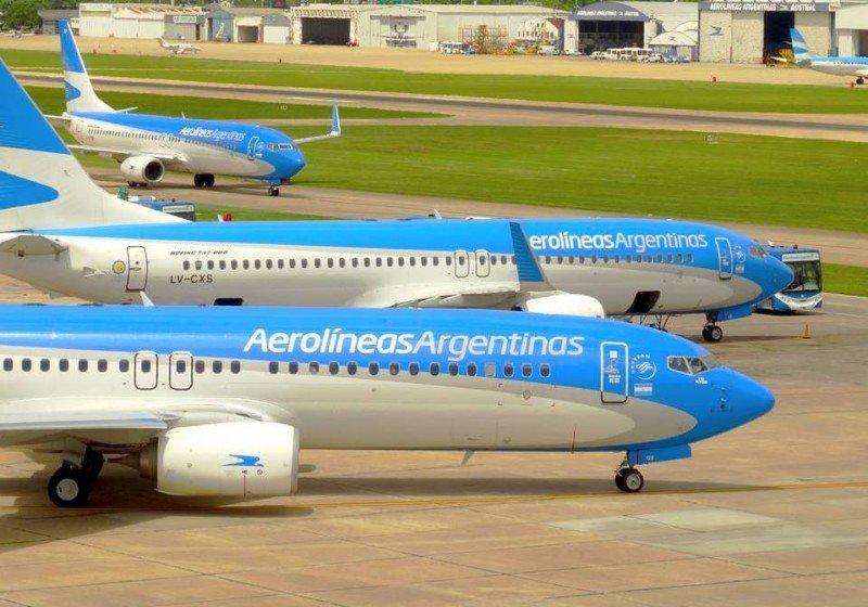 Aerolíneas Argentinas cerró enero con un superávit total de US$ 14 millones. (Foto: Gaspar del Río).