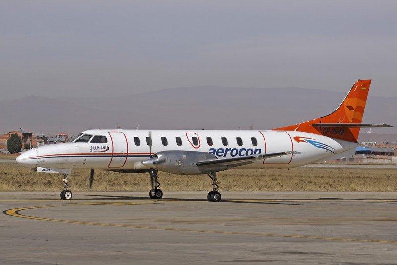 Aerolínea boliviana Aerocon suspende vuelos para reestructurar la empresa