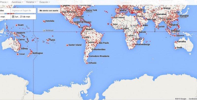 Google actualiza su búsqueda de vuelos y amenaza a apps de reservas