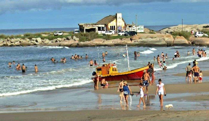 Punta del Diablo, uno de los principales balnearios de Rocha.