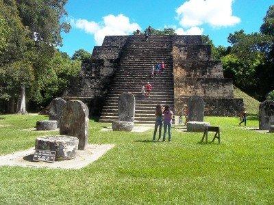 Tikal, uno de los atractivos principales de Guatemala.