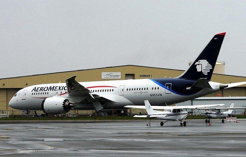 Aeroméxico utilizará B787 Dreamliner para la ruta Buenos Aires-Ciudad de México.