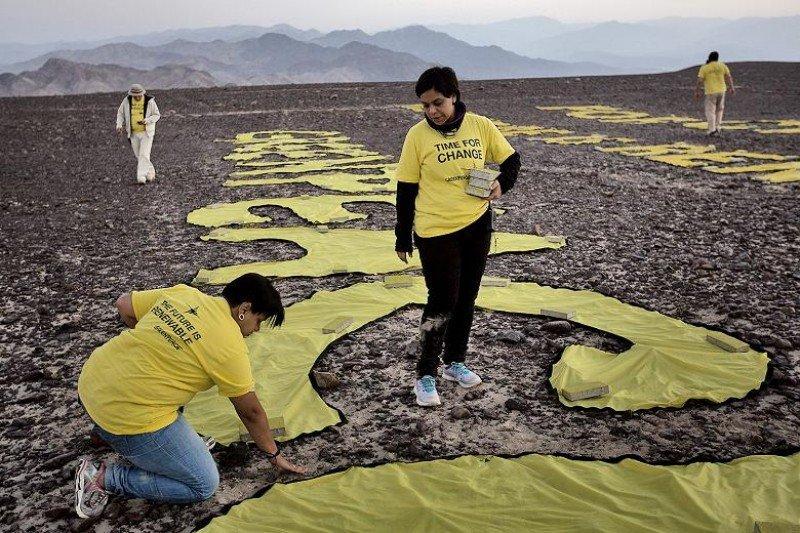 Una de las fotos por las que fue denunciado Rodrigo Abd, fotógrafo argentino de la agencia AP.