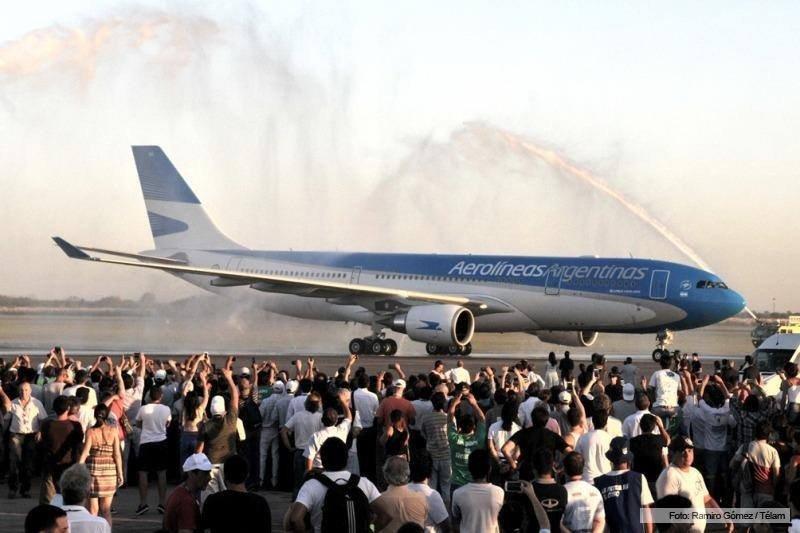Aerolíneas Argentina incorpora un Airbus 330-200 nuevo a su flota.
