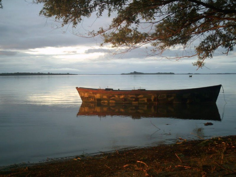 Nuevo Berlín es uno de los puertos fluviales que buscan ser potenciados en la ribera del río Uruguay.