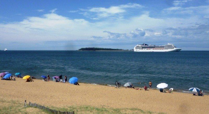 Punta del Este espera más cruceros que este año para la próxima temporada y el promedio de pasajeros por barco ha crecido.