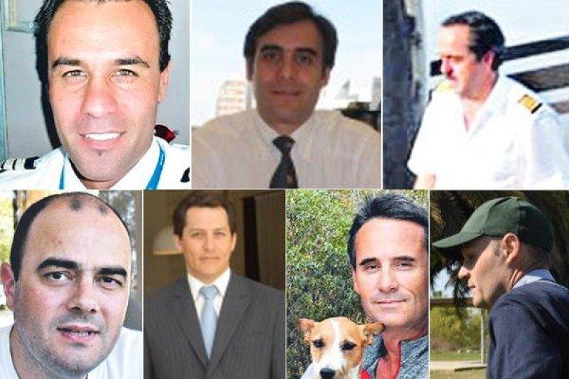 Imágenes de algunas de las víctimas del accidente. Composición: La Nación