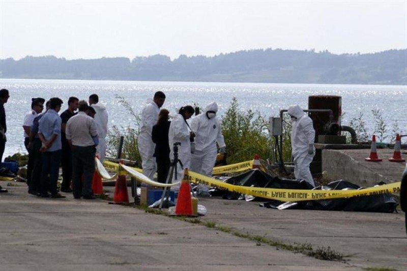 Los cuerpos de las víctimas del accidente fueron recuperados en la mañana del viernes. Foto: La Nación