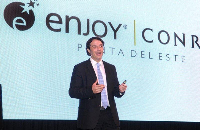 Juan Eduardo García, gerente general de Enjoy Conrad.