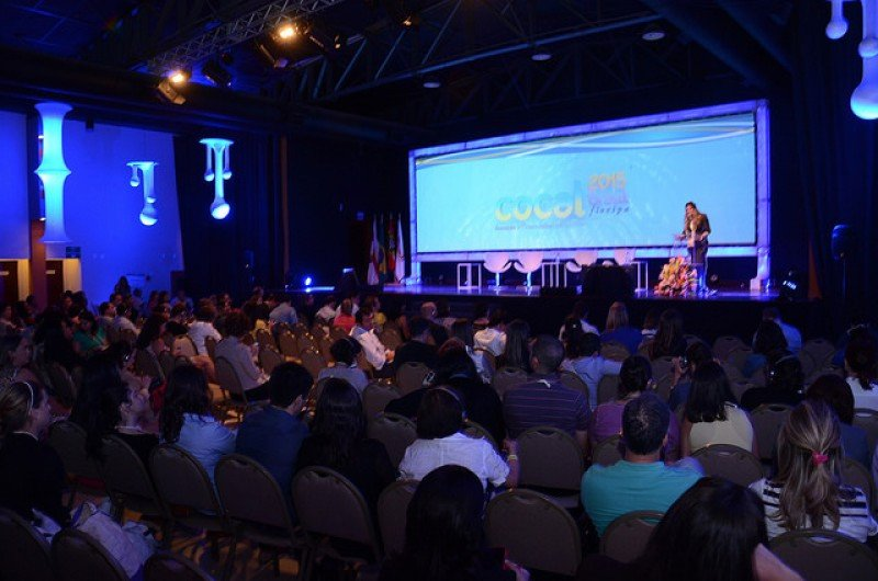 Congreso de COCAL en Florianópolis 2015.