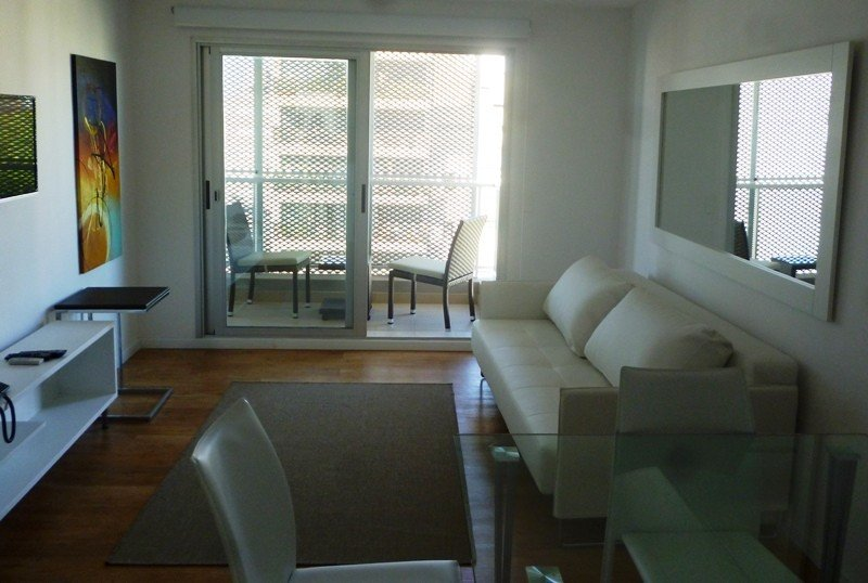 El hotel ofrecerá suites y apartamentos de un dormitorio, con cocina completa; incluso habrá dos departamentos con patio y parrillero.