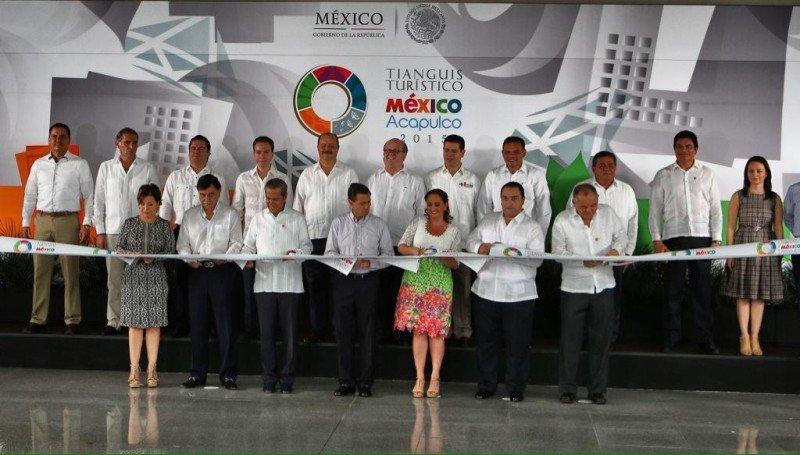 La feria quedó inaugurada con la presencia del presidente Enrique Peña Nieto.
