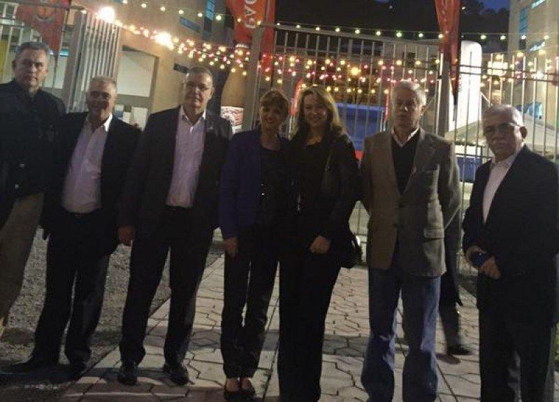 Directivos del Foro Latinoamericano de Turismo reunidos en La Paz.