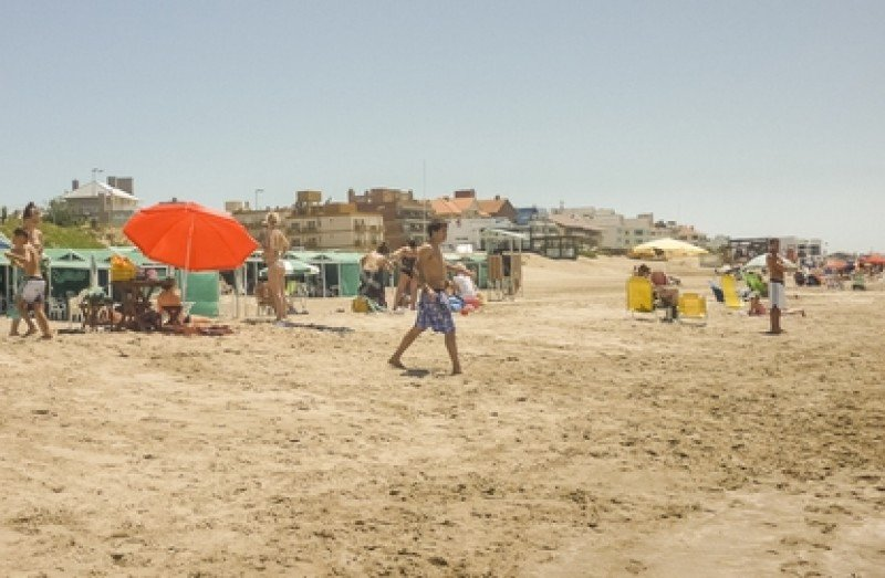Playa de Pinamar, Argentina. #shu#