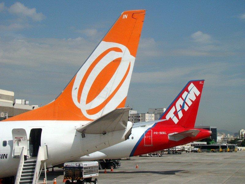 GOL y TAM agregan más de 350 vuelos para feriados en Brasil