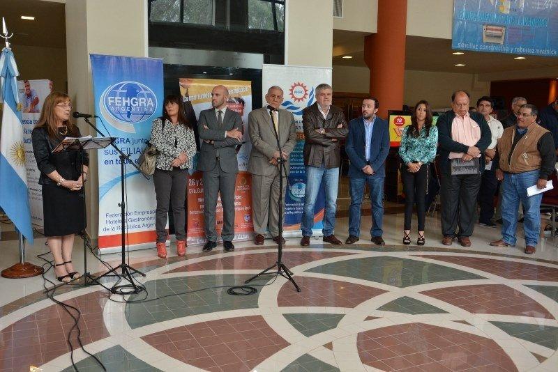 Apertura de la reunión de Fehgra en Termas de Río Hondo.