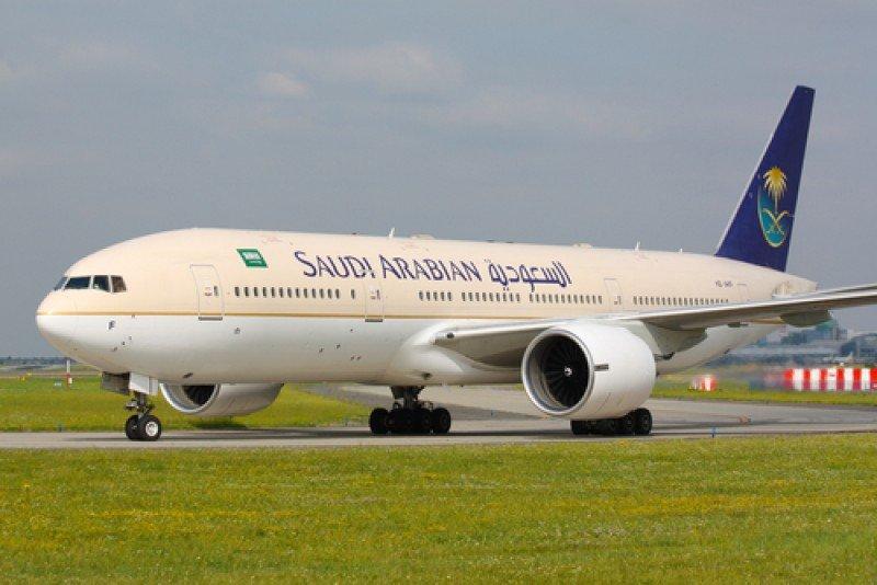 Boeing 777 de Saudi Arabian Airlines. #shu#