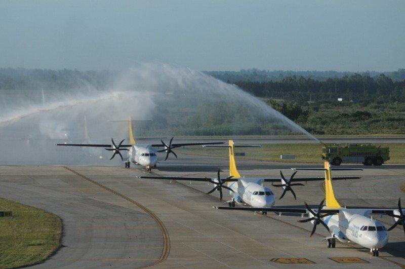 La flota de BQB hoy está integrada por dos ATR-72.