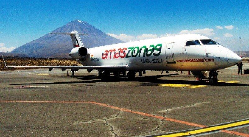 Amaszonas cubre unos 20 destinos regionales y tiene expectativas de expansión en el Cono Sur.