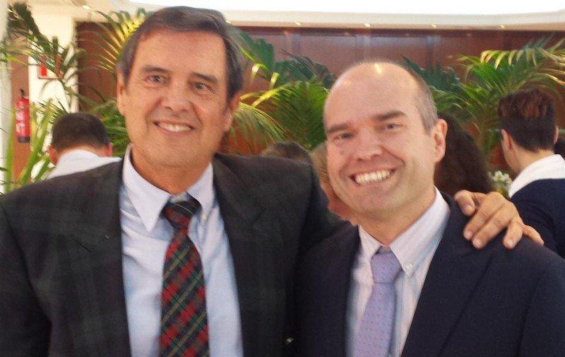 De izq. a dcha, Cándido Figueroa y Luis Hernández.
