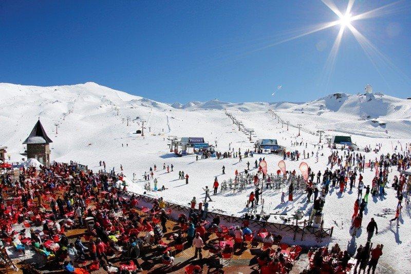 La estación de esquí de Sierra Nevada.