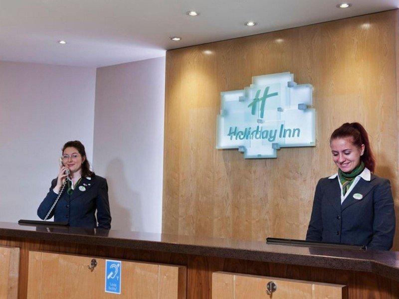 Recepción del Holiday Inn Gatwick Hotel Airport, uno de los establecimientos incluidos en el acuerdo.