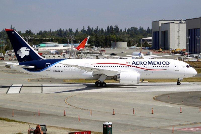 Aeroméxico aumenta su tráfico con el impulso de los pasajeros internacionales