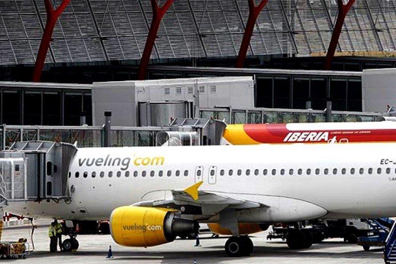 Vueling es la aerolínea del grupo Iberia más afectada por la huelga.