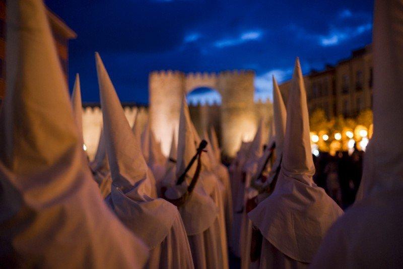 Ávila ha colgado el cartel de completo, con una ocupación un 10% superior a la del pasado año. #shu#