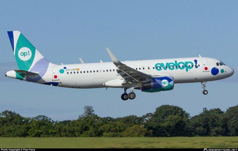 Evelop es la aerolínea de la división de viajes de Barceló.