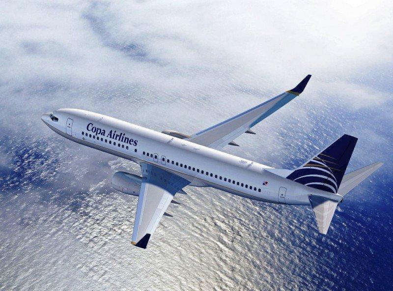 Modelo Boeing 737-8 MAX de Copa Airlines.