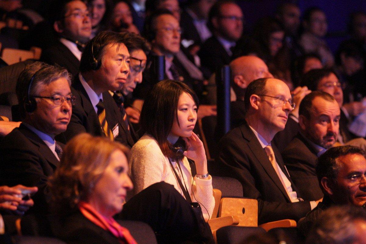 El evento contó con la participación de profesionales de varios países.