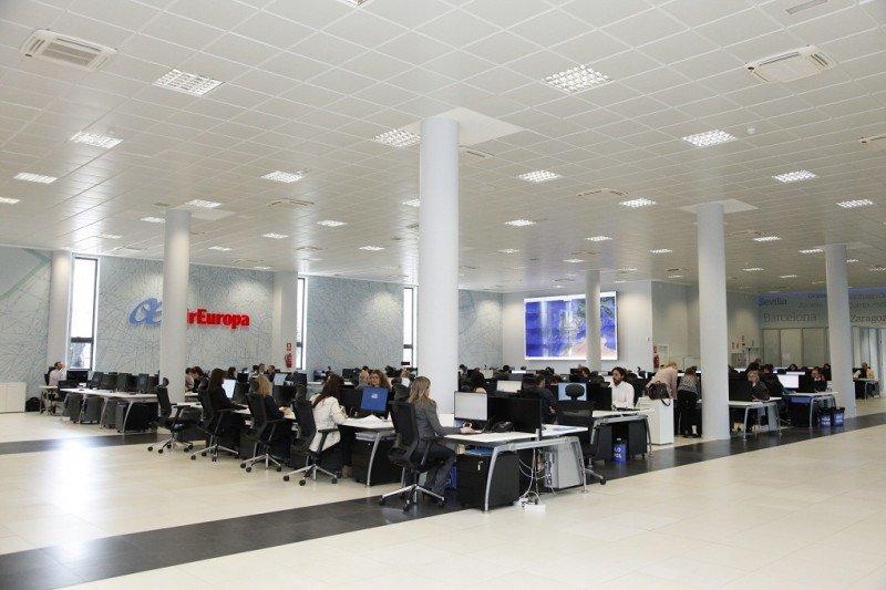 Desde una sala de 1.000 metros cuadrados, Air Europa seguirá en tiempo real los 46 aviones de su flota.