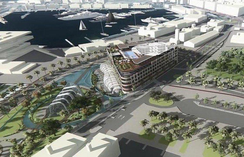 Invertirán 200 M € en un hotel de lujo en la Marina de Valencia