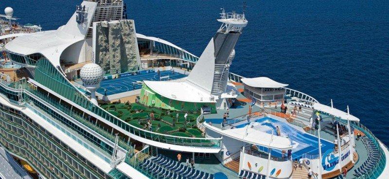 Royal Caribbean ganó casi un 71% más en el primer trimestre